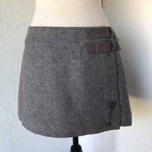 Juicy couture pleaded wrap mini skirt sz 4